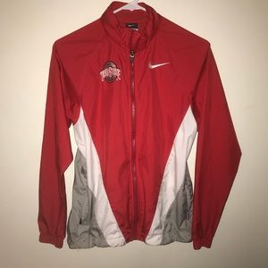 Nike Ohio State windbreaker